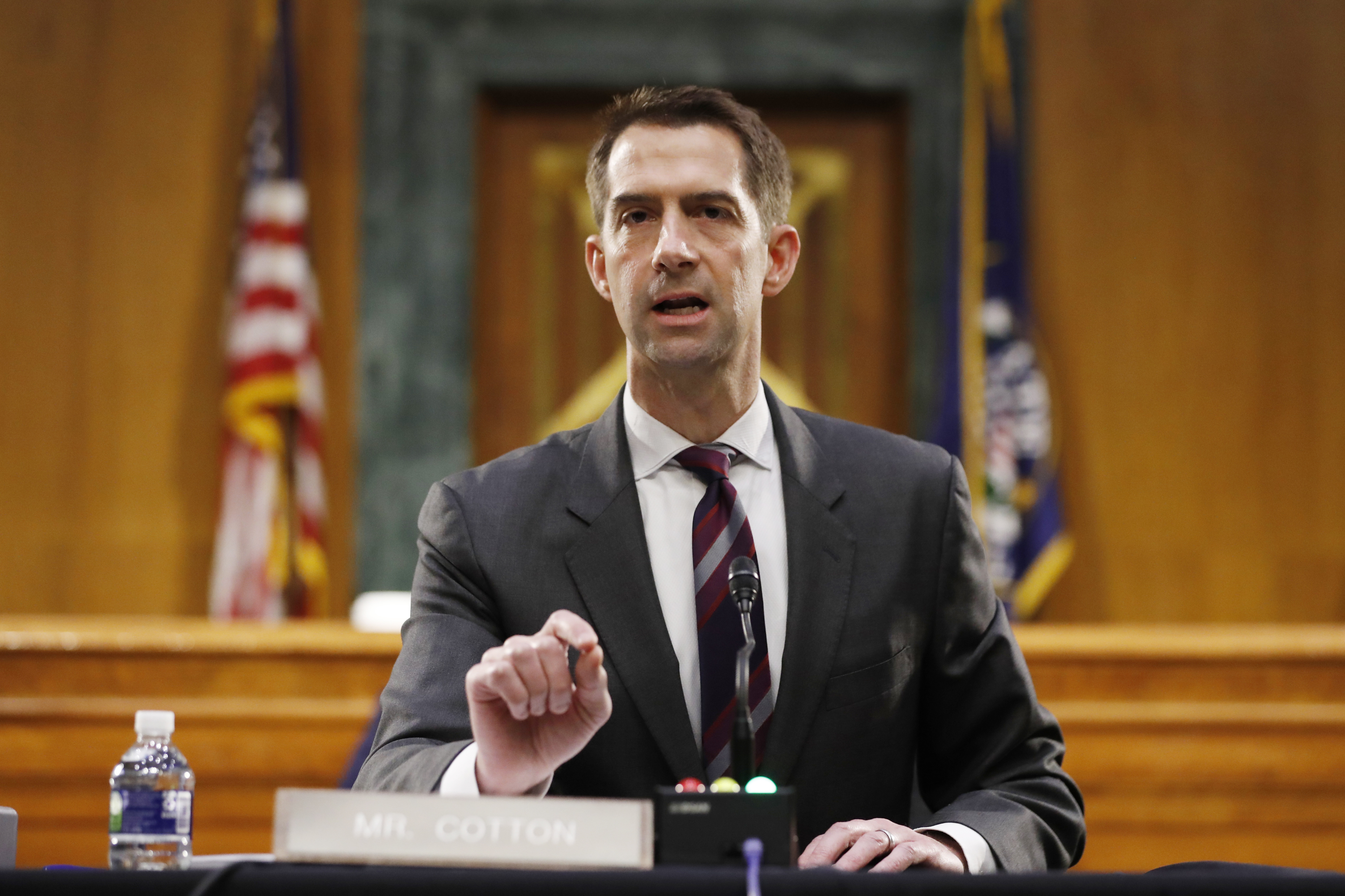 , Sen. Tom Cotton Says Founding Fathers Saw Slavery as a 'Necessary Evil', Saubio Making Wealth