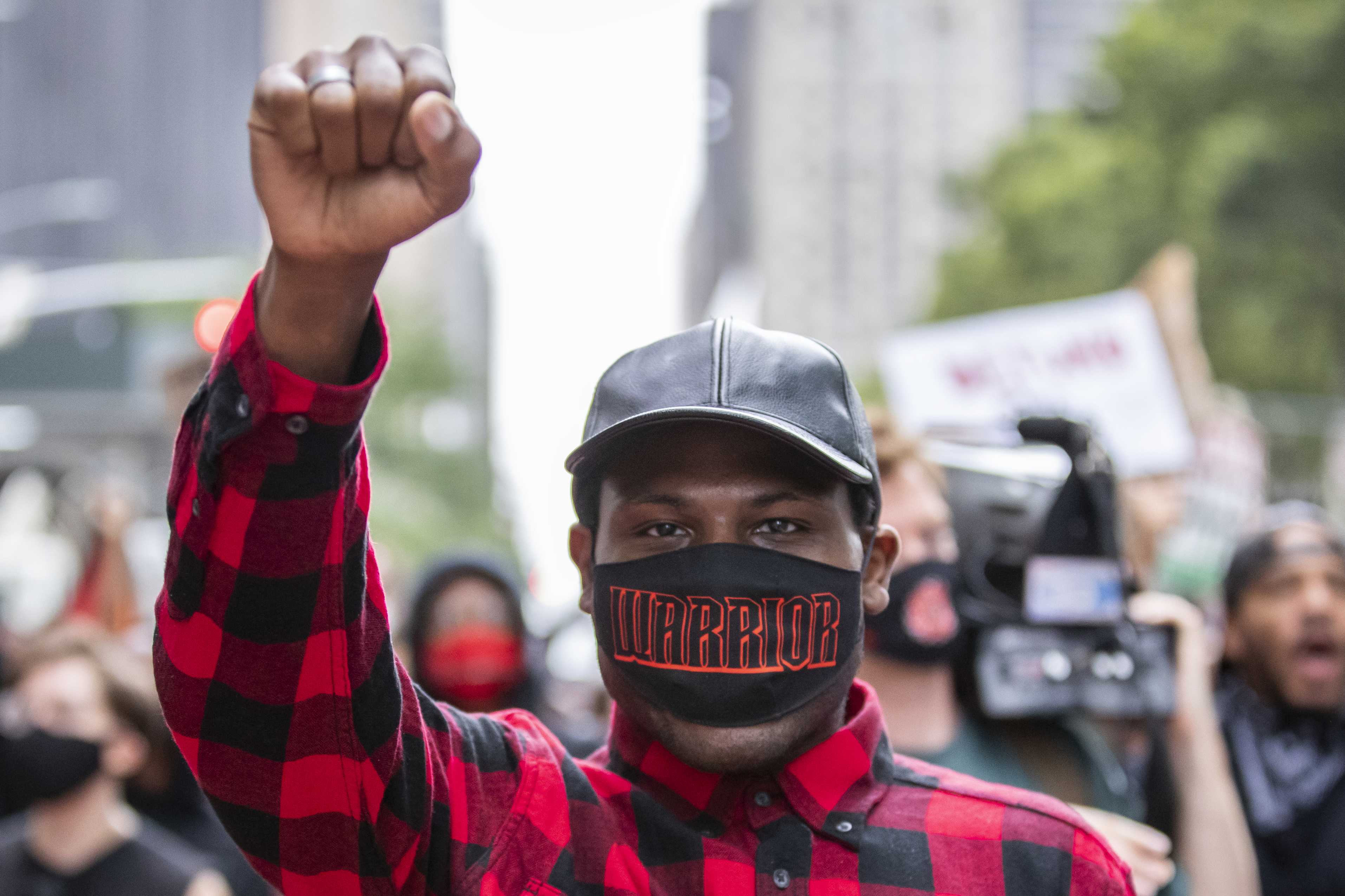 , The Activist Who Streamed a Bizarre Standoff With the NYPD Will Keep Fighting, Saubio Making Wealth
