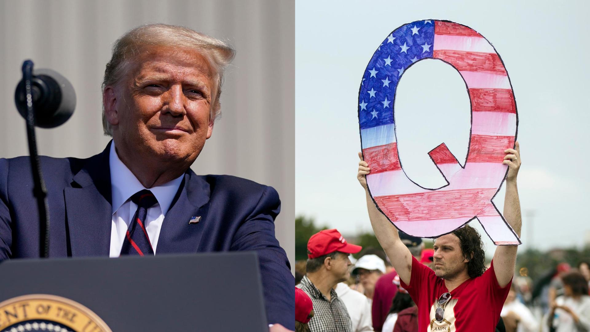 , Here's Why Trump's Praise of QAnon Is So Dangerous, Saubio Making Wealth