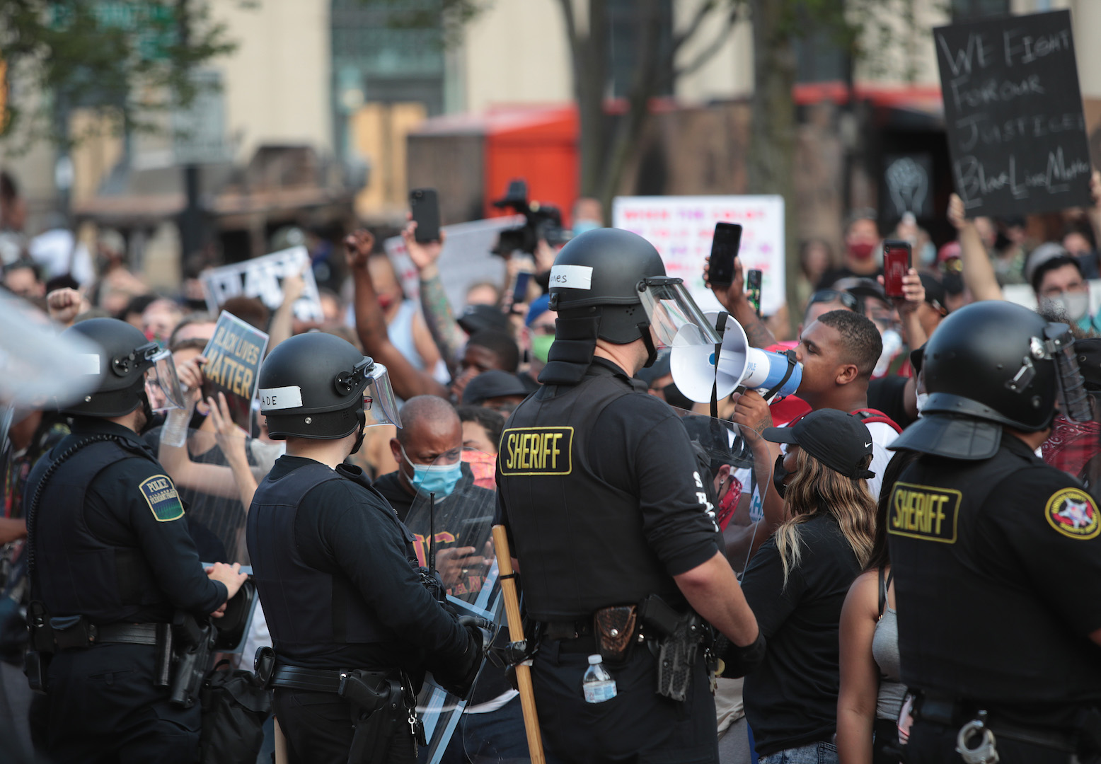 , Cops Pepper Sprayed Protesters at a Press Conference for Jacob Blake, Saubio Making Wealth