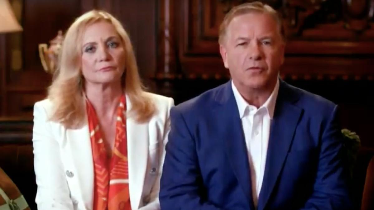 , That Gun-Waving Couple From St. Louis Made a Weird, Dark Appearance at Trump's Convention, Saubio Making Wealth