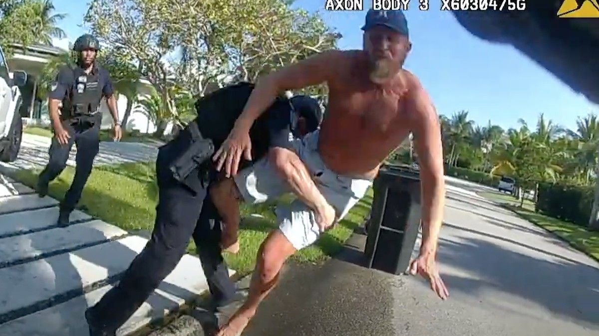 , Florida Police Just Released Video of Brad Parscale Getting Tackled by Cops, Saubio Making Wealth