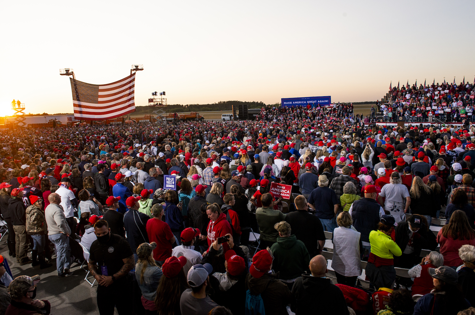, A Trump Rally in Minnesota Probably Spread COVID, State Health Dept. Says, Saubio Making Wealth