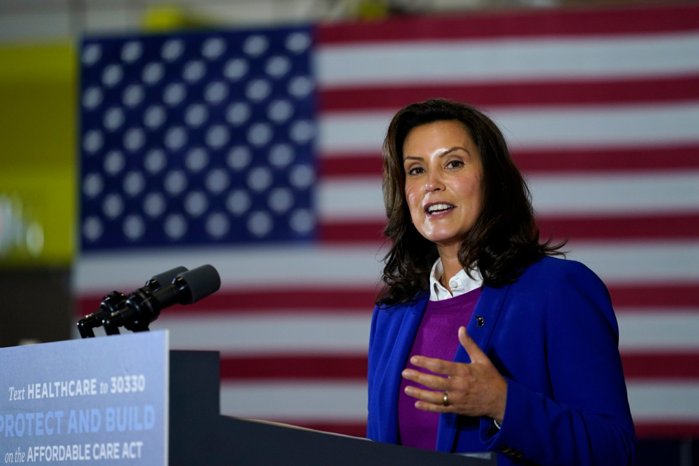 The Trump Campaign Is 'Inspiring and Incentivizing' Attacks on Gretchen Whitmer