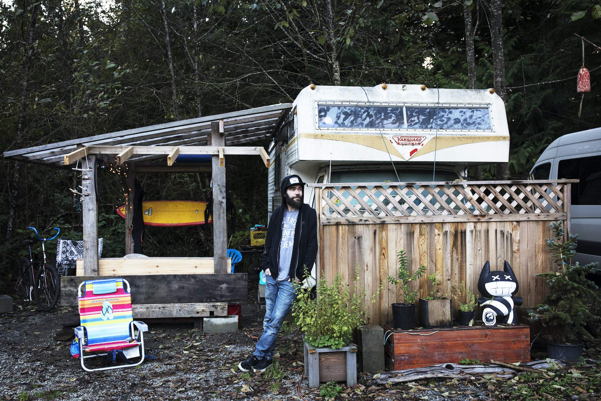 In Canada's 'Hippie Town,' COVID Has Led to an Influx of Vanlifers and 'CERB Surfers'