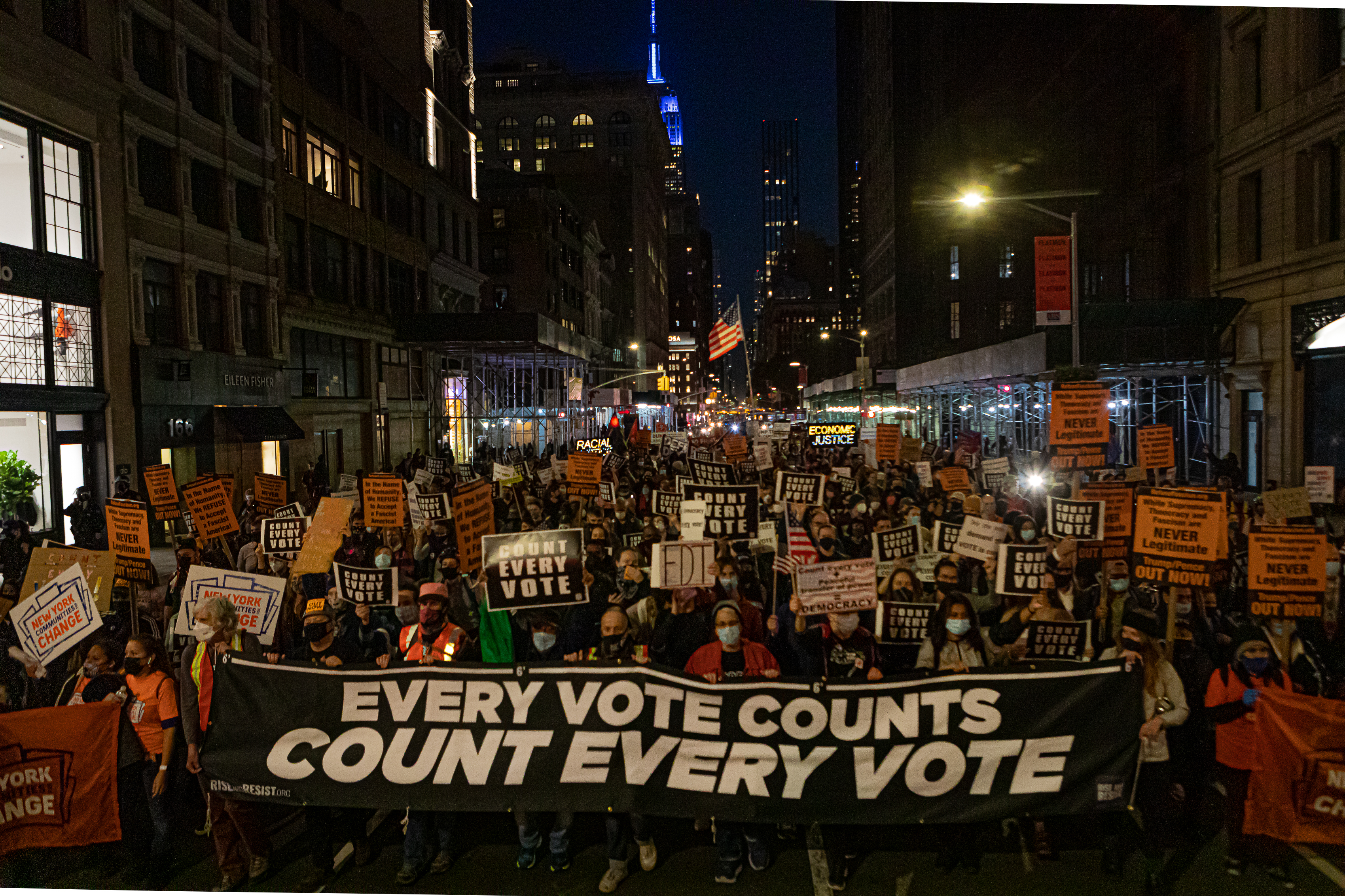 , Here's What Labor Unions Say They're Doing to Protect the Vote, Saubio Making Wealth