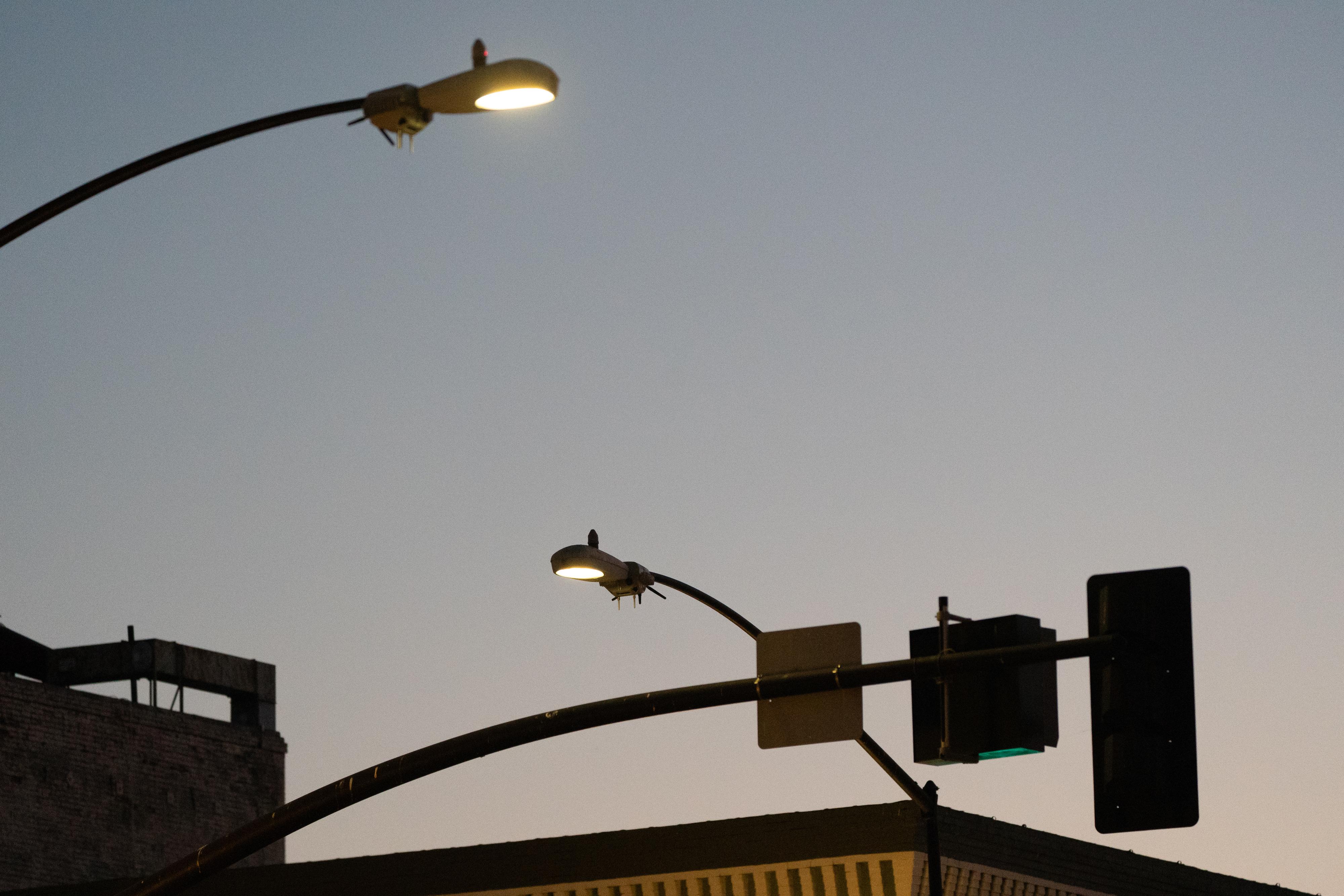 Streetlight Spy Cameras Have