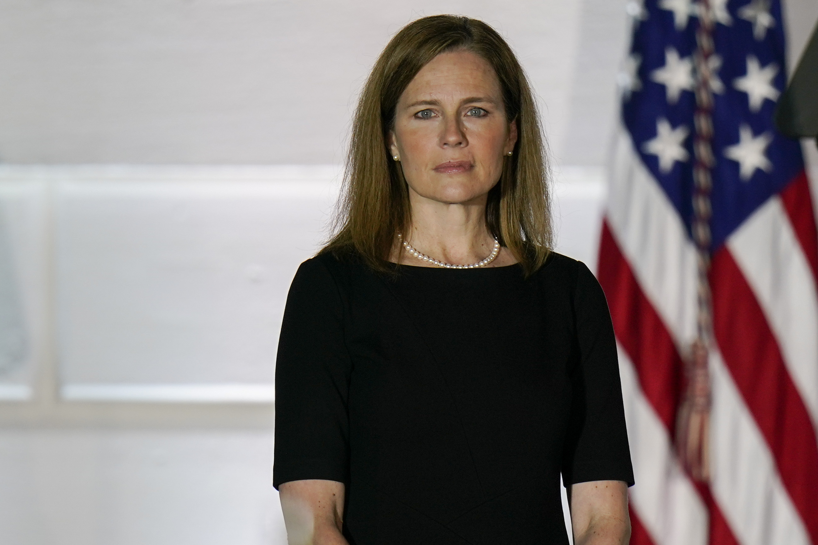 Amy Coney Barrett Casts Swing Vote to Block New York