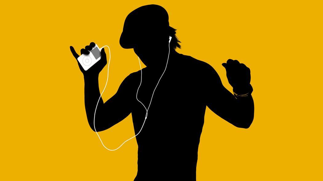 Hasil gambar untuk gambar keren orang lagi mendengarkan musik