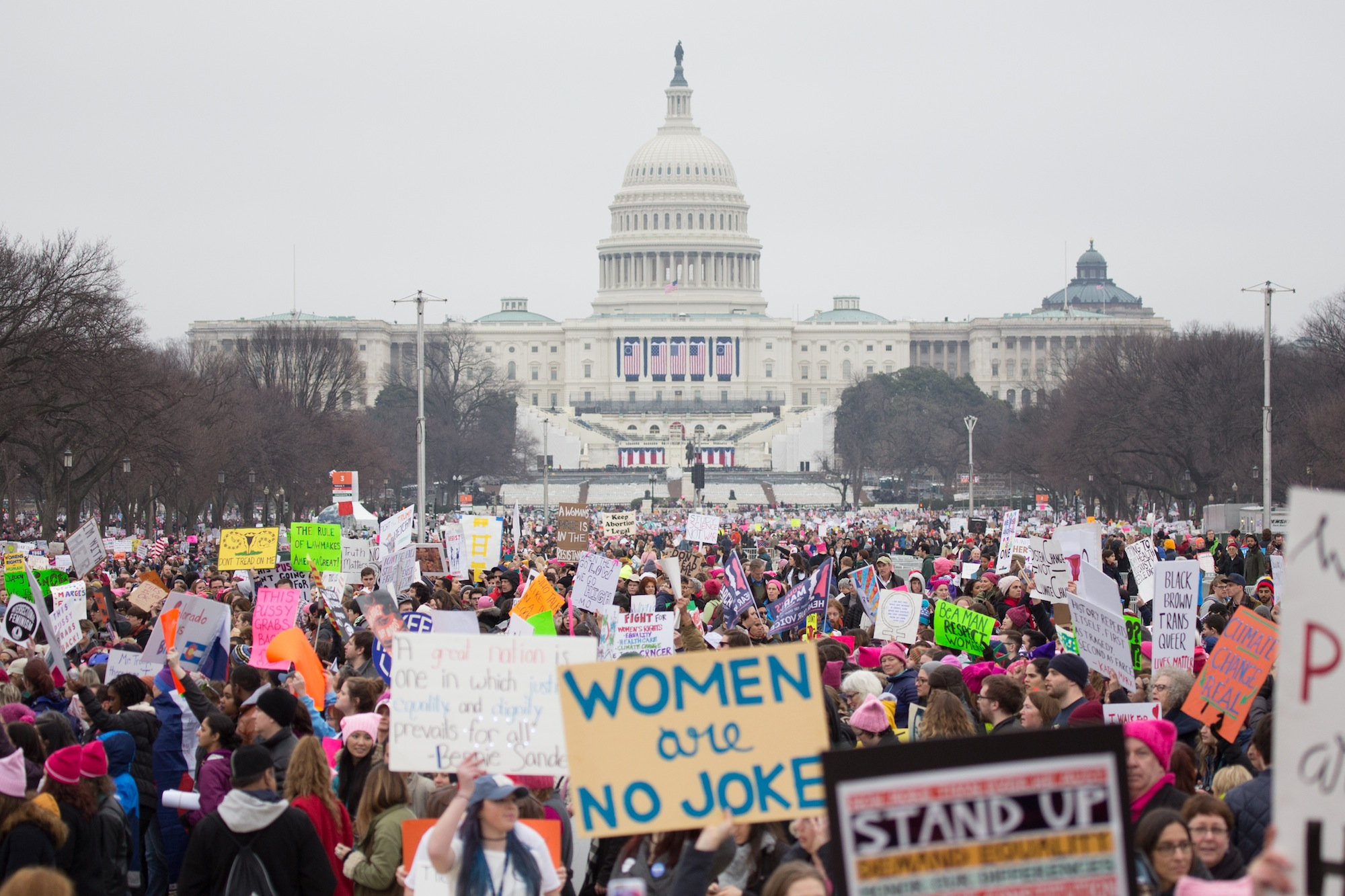 The Anti-Inauguration: Scenes from the Massive Women's March on Washington - VICE
