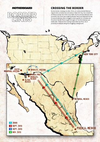 Map Of Us Mexico Border Crossings.This Is What Illegally Crossing The Us Mexico Border Four Times