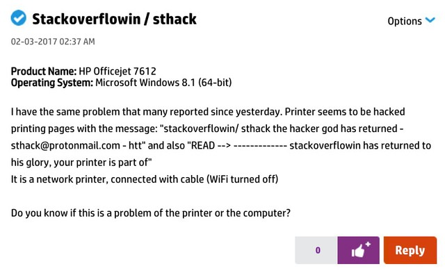 This Teen Hacked 150,000 Printers to Show How the Internet