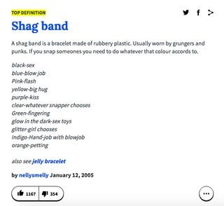 Shag bands