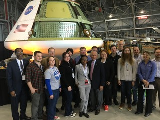 Photo from NASA Socials event on February 9, 2016