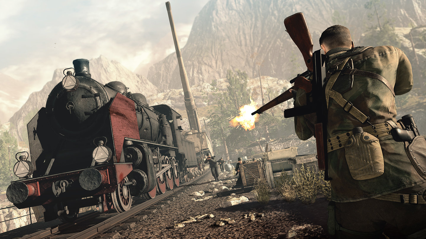 I Love Seeing Smaller Studios Stretch Themselves Improving On What They Previously Made And Sniper Elite 4 Is Absolutely The Best Game In Its Series