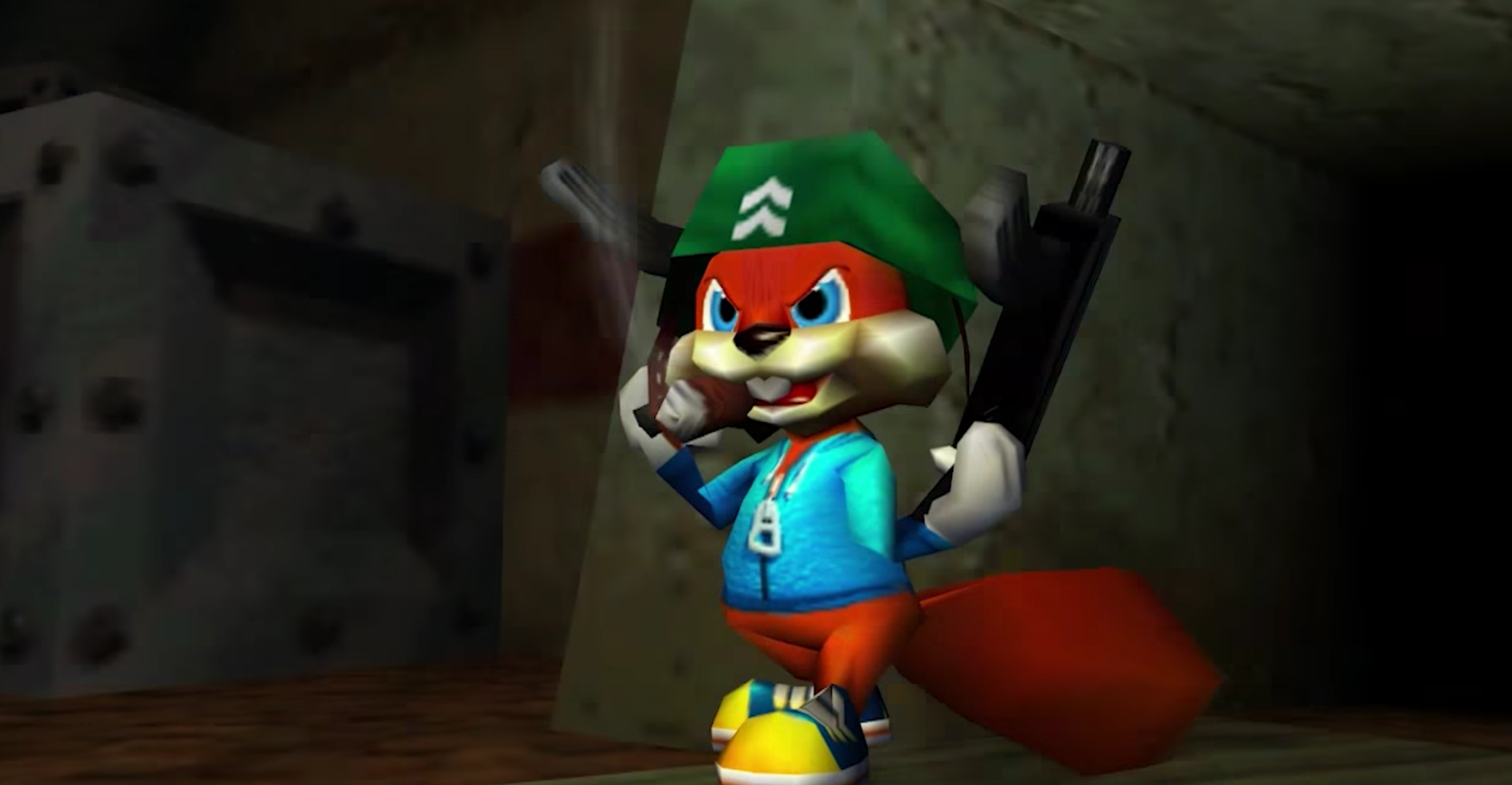 Image result for conker's bad fur day