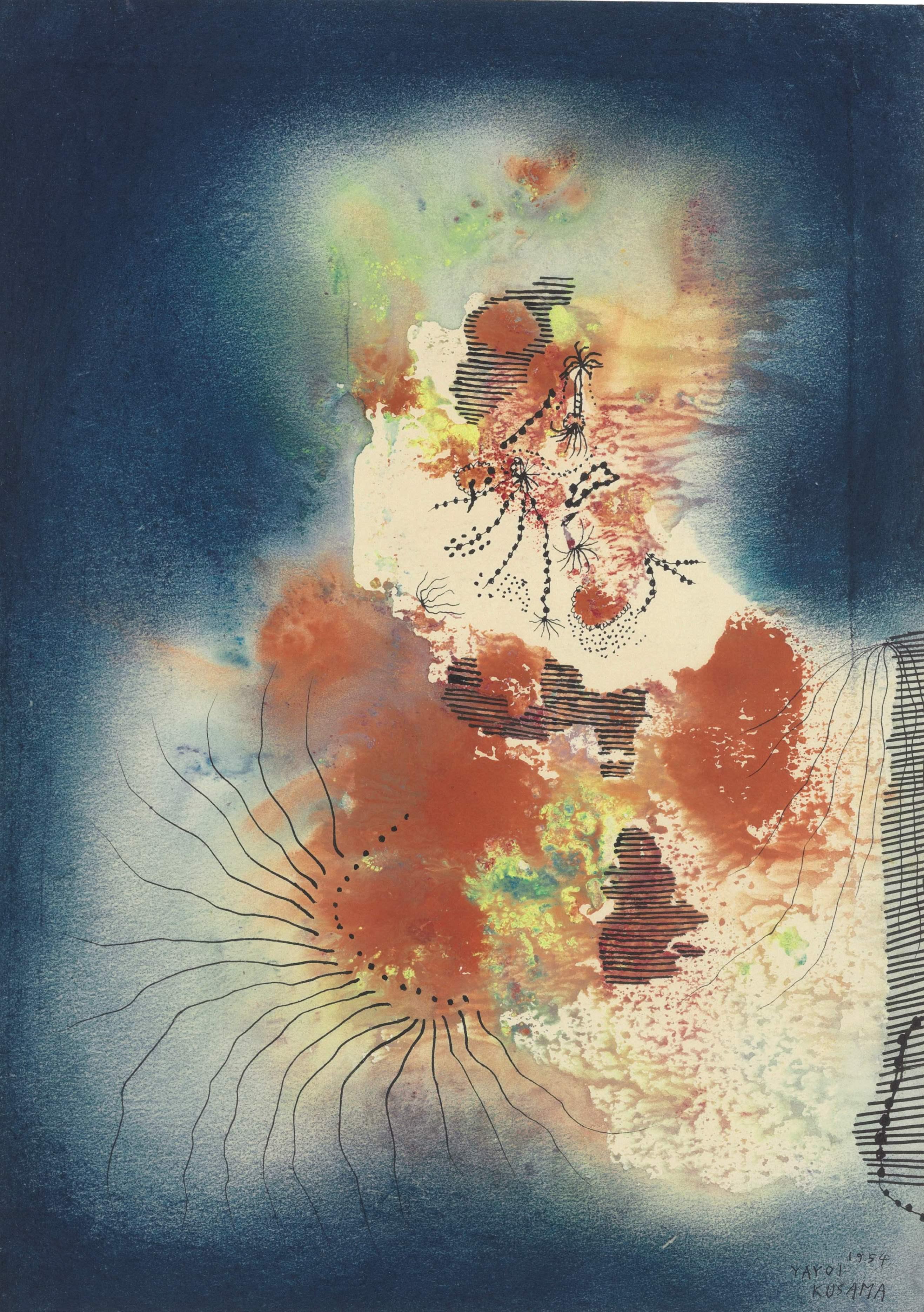 Yayoi Kusama, 'The Castle'