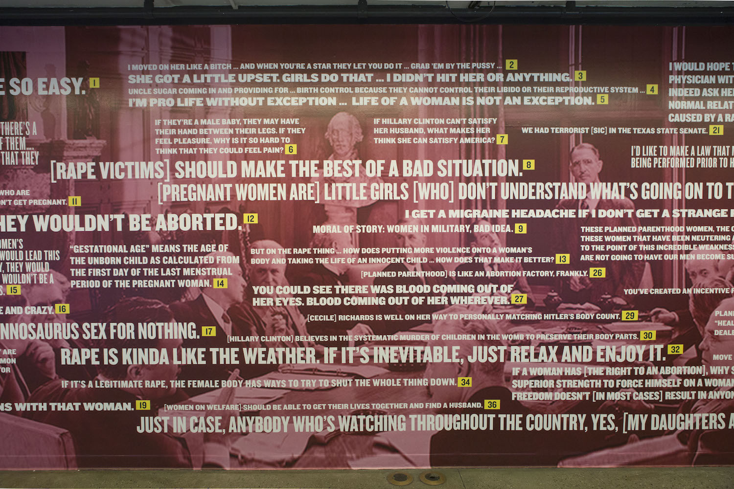 Rape Quotes 37 Politicians Get A Mural Dedicated To Their Most Shameful
