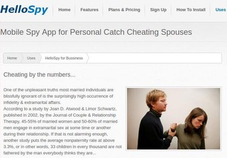 Screenshot from HelloSpy's website