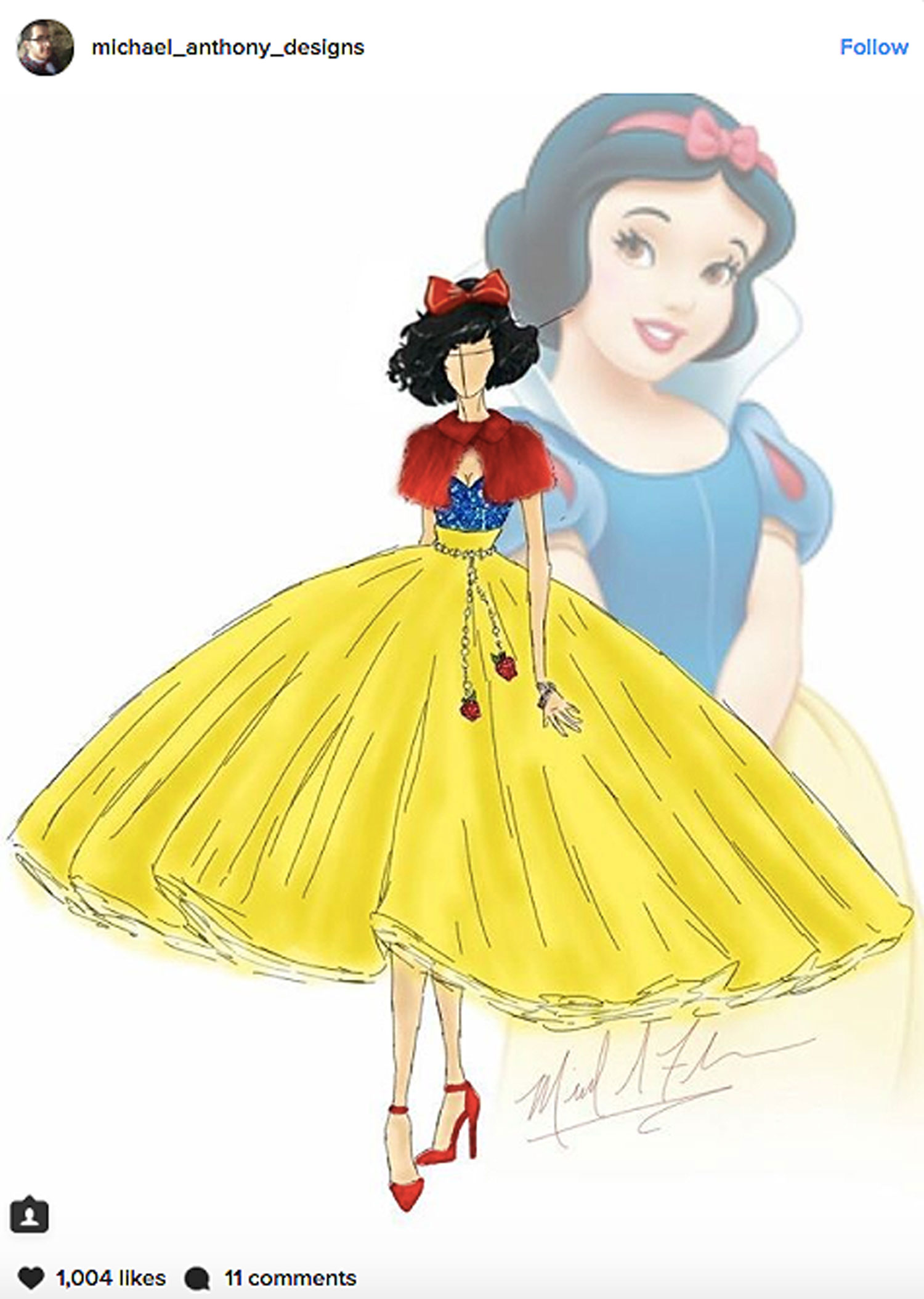 These Disney Princess Are Ready For Fashion Week In Redesigned