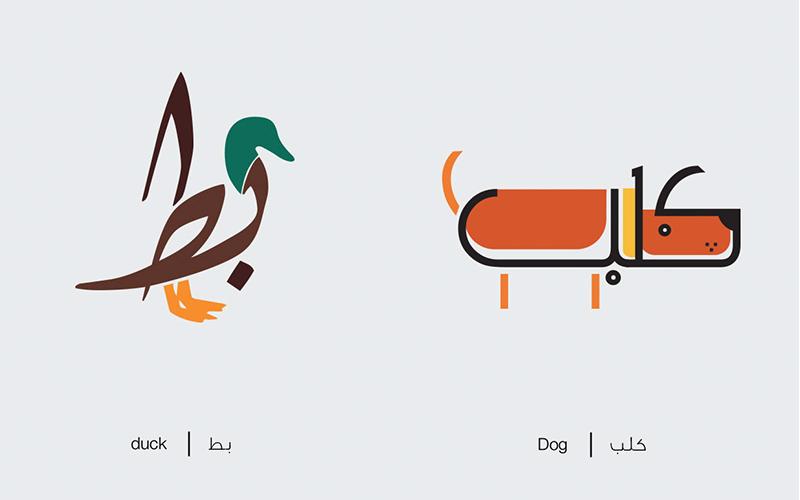 Apprendre l'arabe en dessin comme un gamin de 4 ans