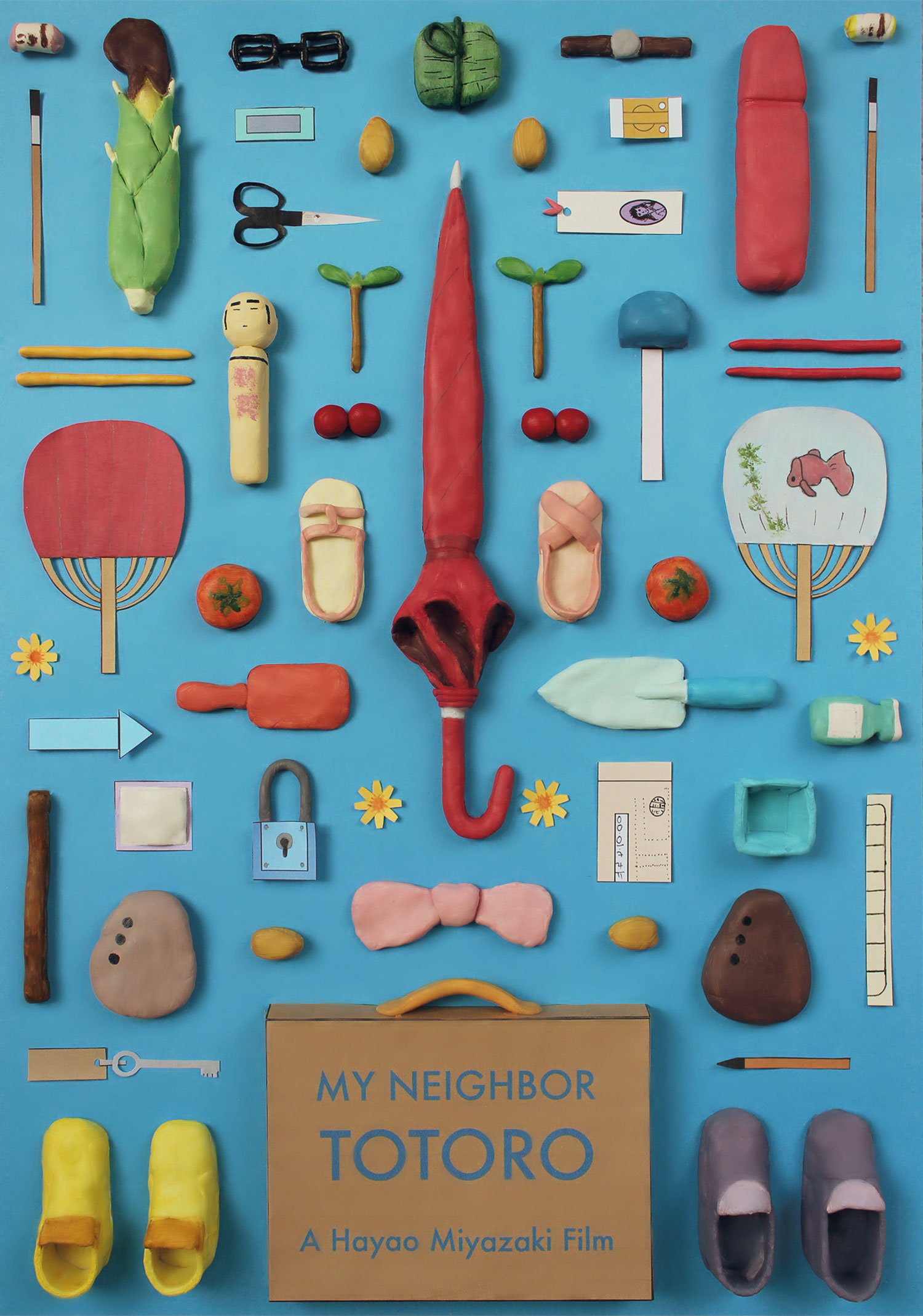 Every Important Object from Miyazaki Films, in Movie Poster Form