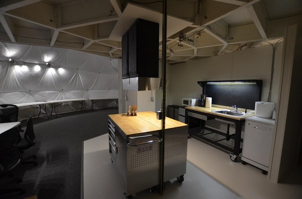 HI-SEAS habitat kitchen.