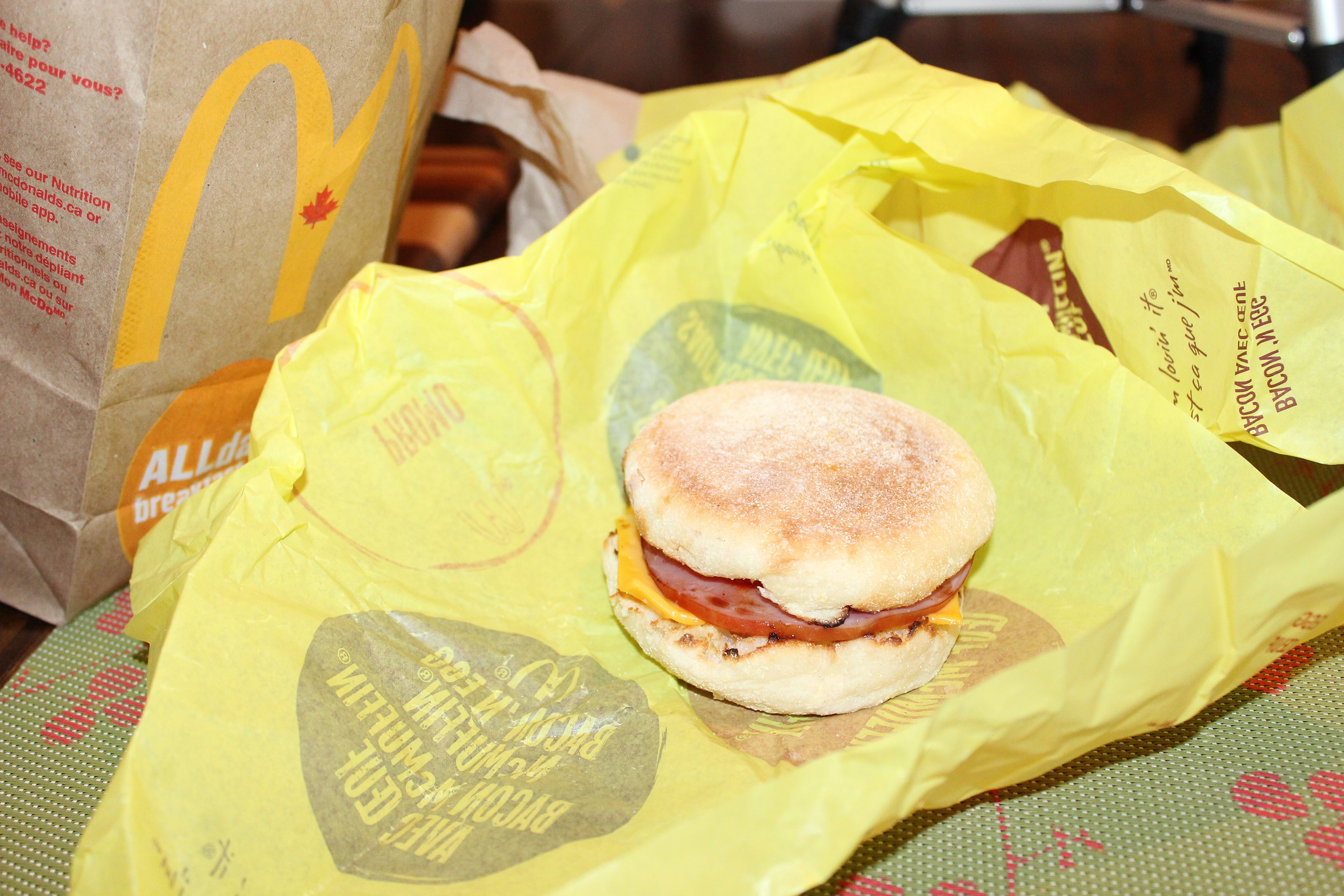 I Ate McDonald's All-Day Breakfast for Every Single Meal For a Week