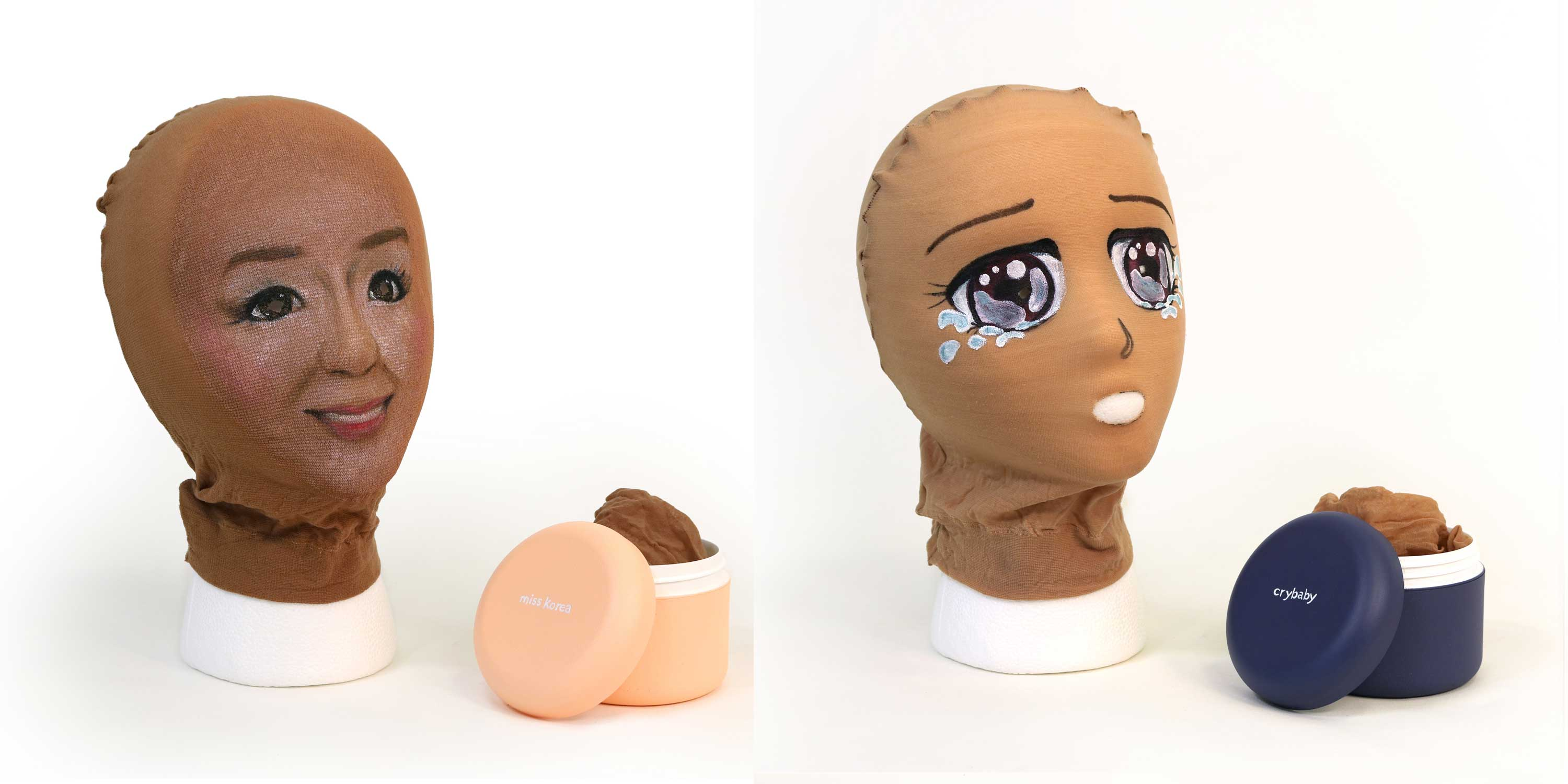 Unsettling Anime Masks Exorcise This Artist S Insecurities Vice