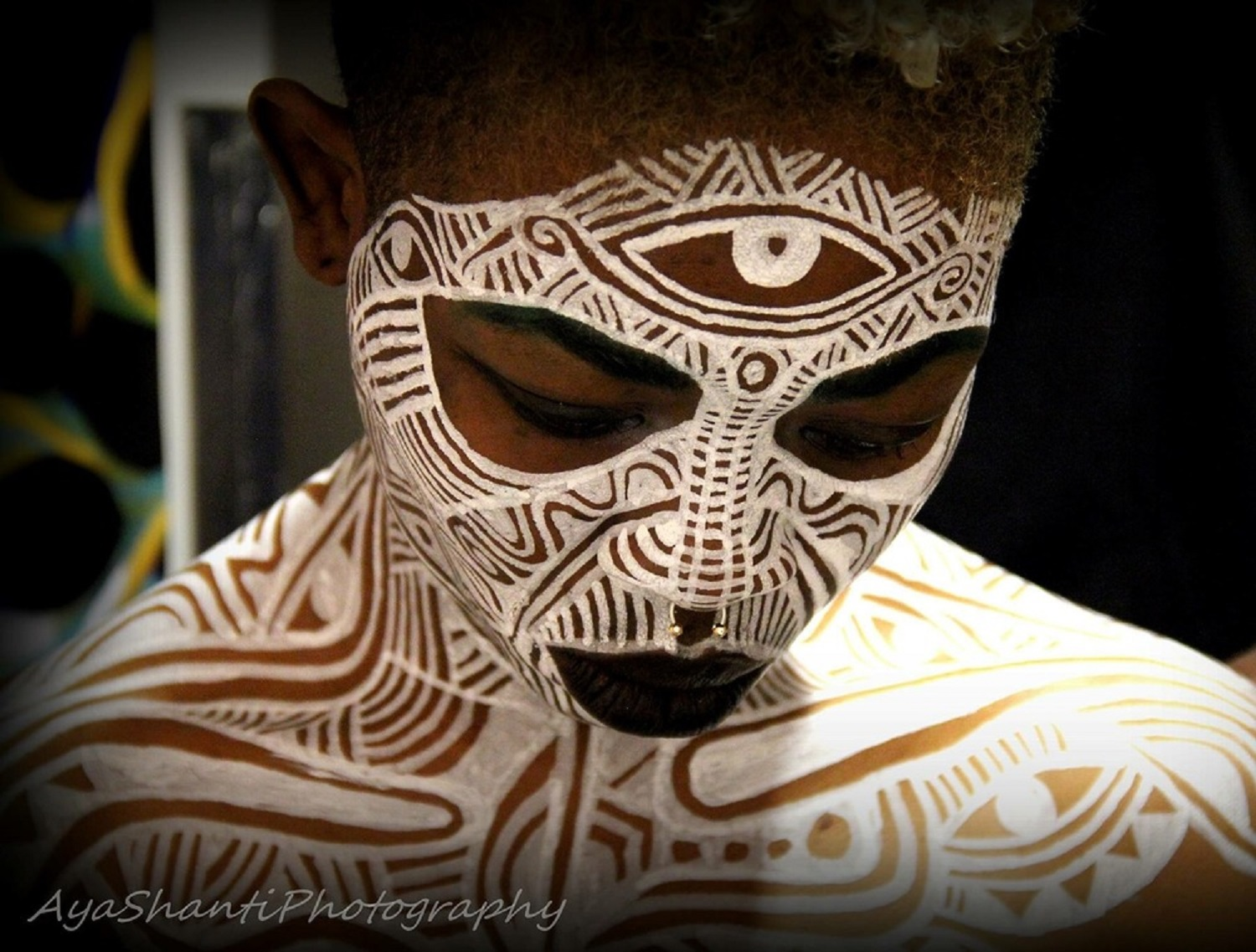 African Face Paint Meaning