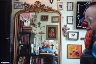Henry in his studio