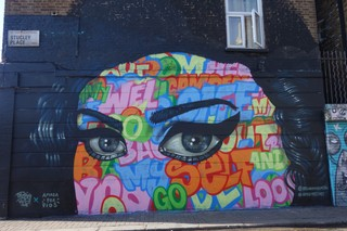 A piece of the street art (Photo by author)