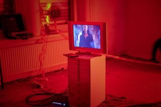 'Donna Francesca', installatie van Marc van Dijk, Maurice van Turnhout en Sander Veenhof