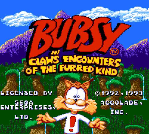 Bubsy Licensed