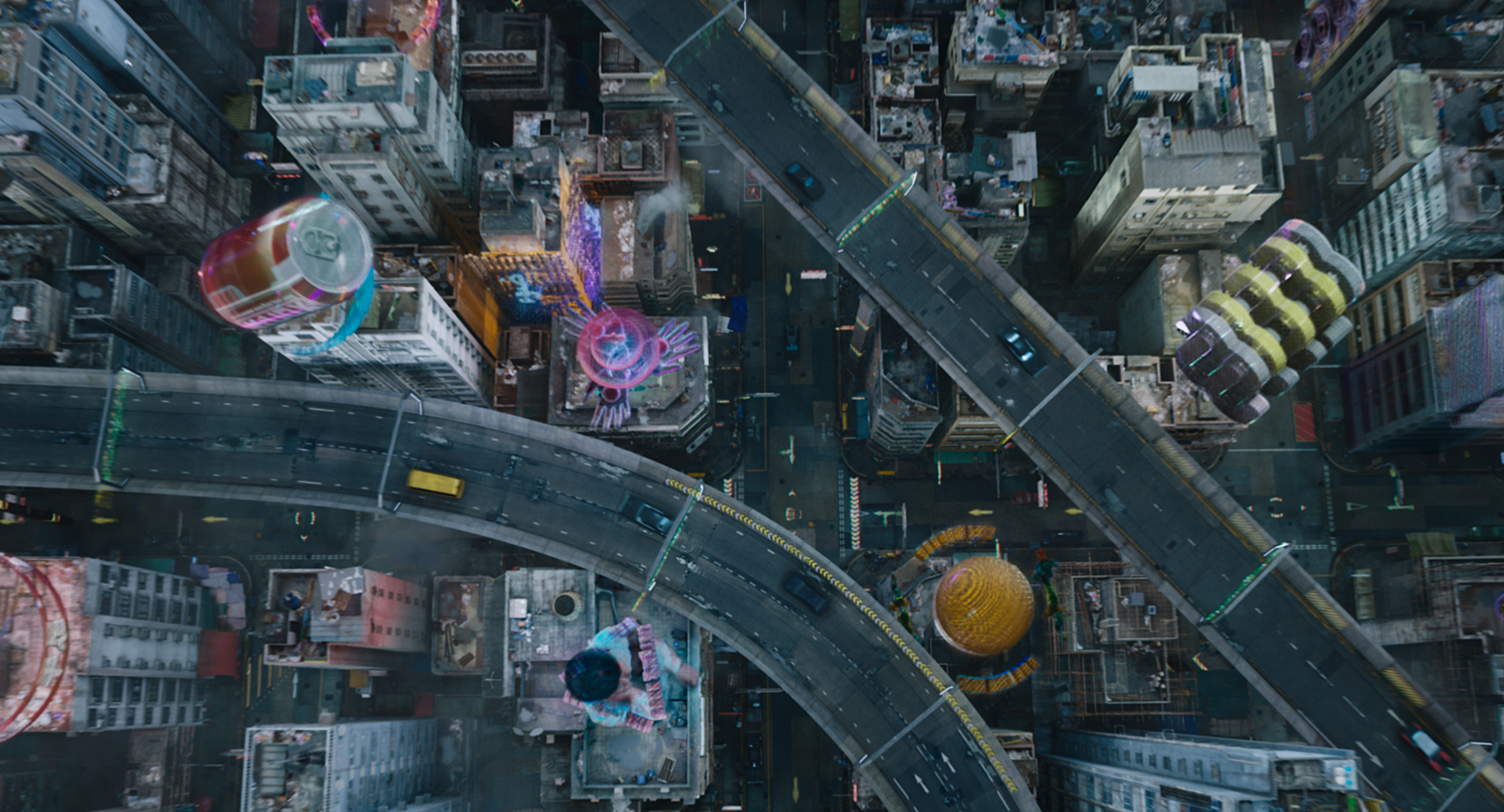 How Ghost In The Shell Vfx Artists Brought Manga To The Big Screen