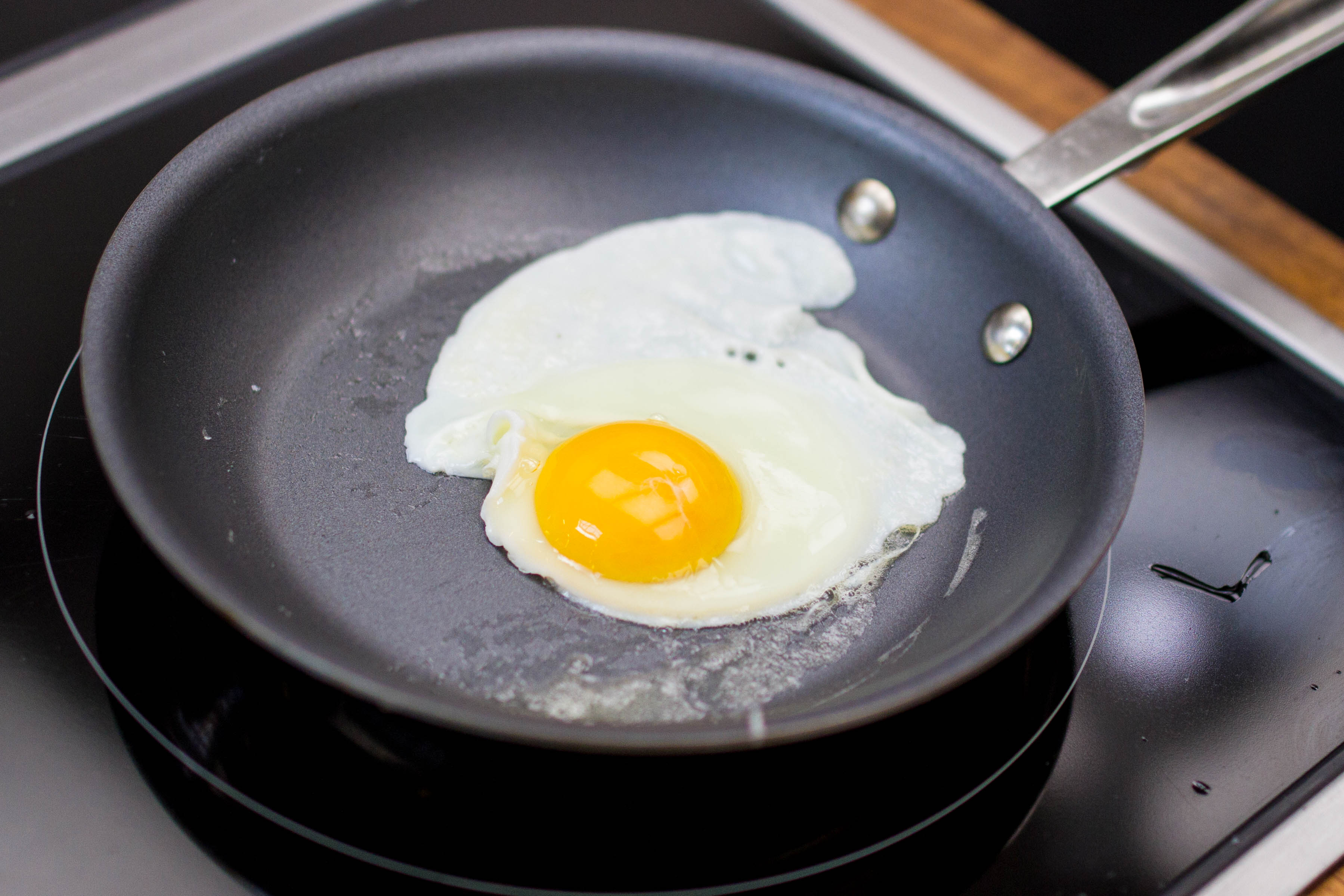 You're Not Looking For Crispy Edges—you Want A Gently Cooked Egg With