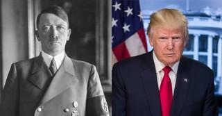 Foto på Hitler: Bundesarchiv, via ; foto på Trump: Vita Huset, via