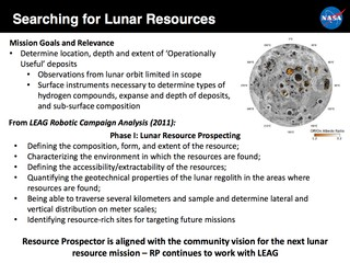 One of the NASA slides provided to the Trump transition team