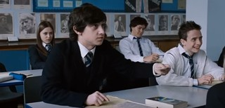 Classroom scene from 'Submarine' (via YouTube)