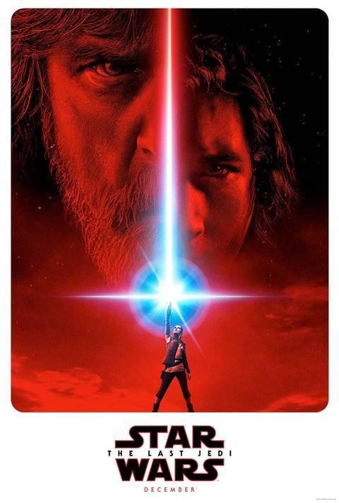 'Star Wars Episode VIII: The Last Jedi' poster