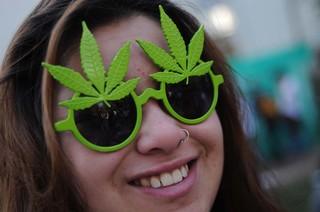 Gafas marihuana