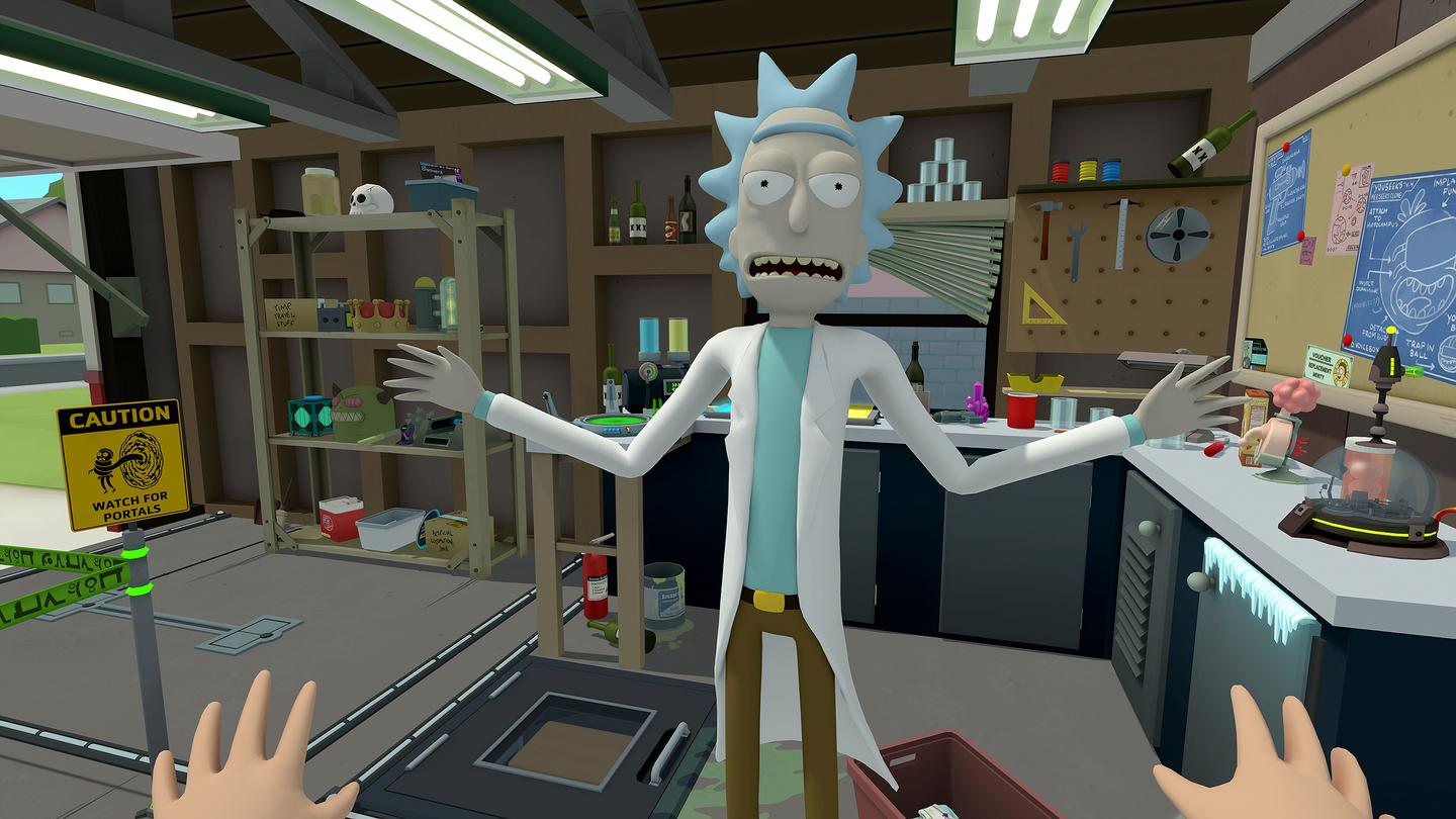 Rick and Morty's New VR Game Is Rick-diculously Fun