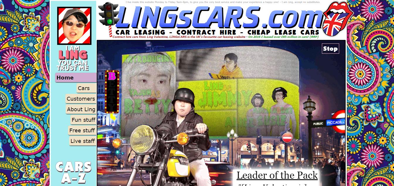 Lingscars.com Es el Futuro de la Web de Diseño de la Placa base 1