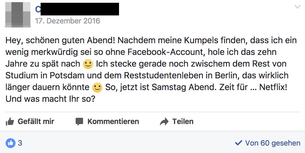 Fotos für fake account