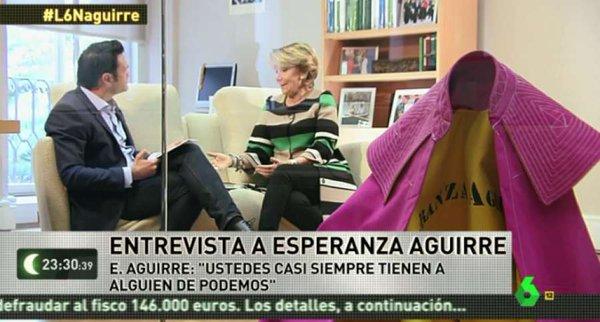 Esperanza Aguirre torera