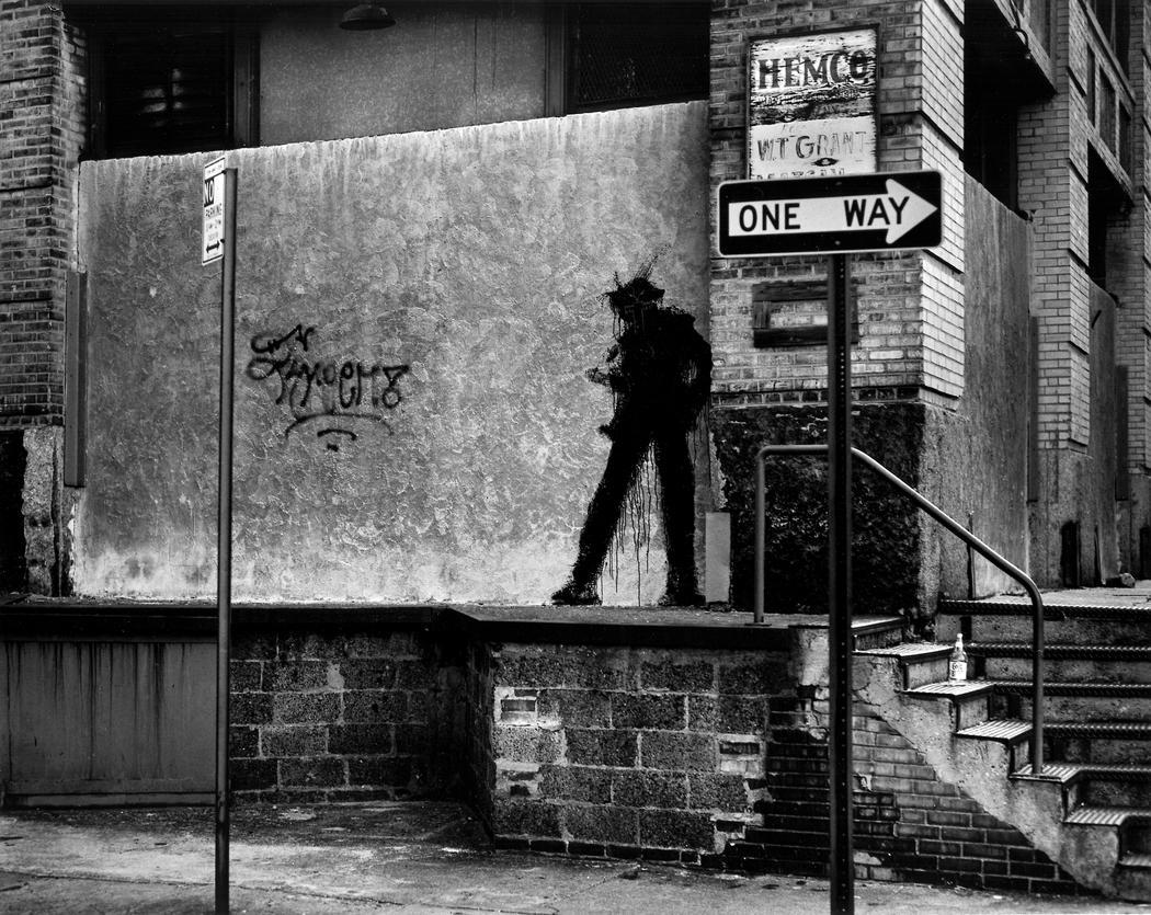 Avant Basquiat et Banksy, il y avait Shadowman