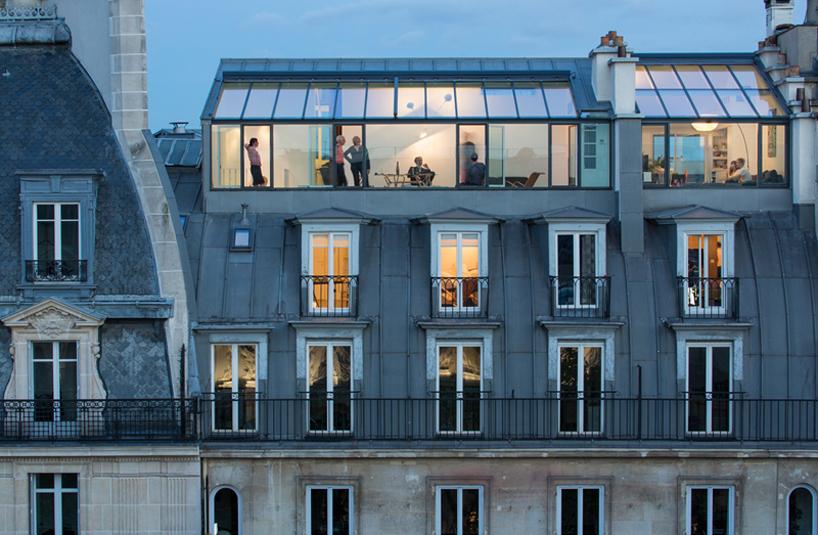 Votre petit nid de verre sur Opéra