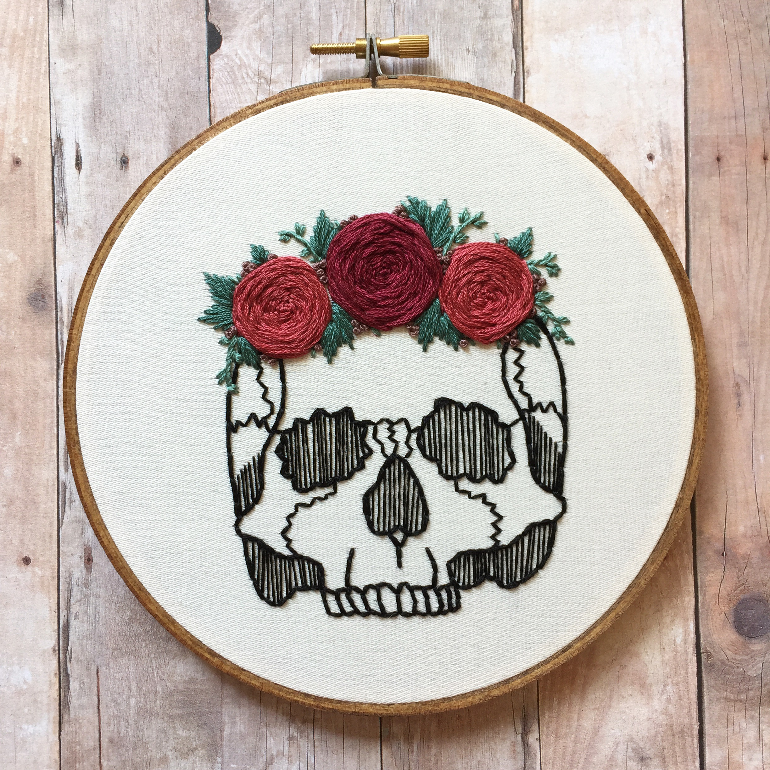 ... to me that's not what embroidery is about.