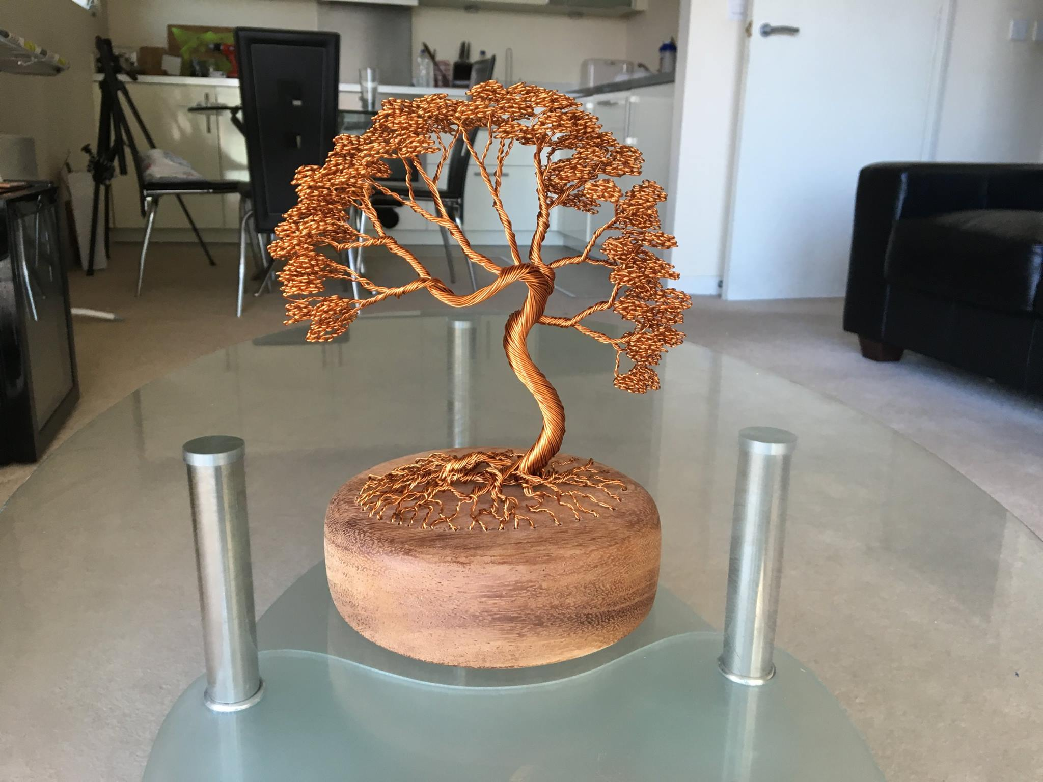 Fabulous Artist Weaves Intricate Bonsai Trees With Copper And Aluminum Wire Wiring 101 Cajosaxxcnl