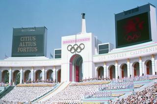 Los Juegos Olímpicos de 1984 en Los Ángeles fueron considerados todo un éxito. Foto vía WikiMedia Commons